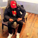"""Rapper Nas Spotted In A Woolrich 'Pocono' Padded Jacket & Don C x Air Jordan 2 """"Beach"""" Pack"""