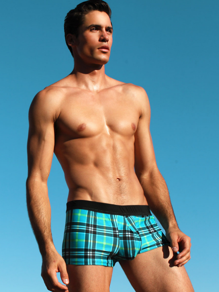 Dramatic Plaid Boxer1