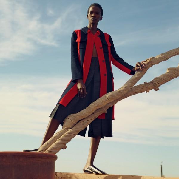Fashion Model Aamito Lagum For Porter Magazine Spring 2016 #13 1