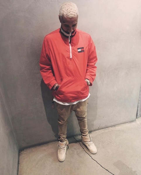 Throwback Fashion: Tyga Spotted In Vintage Tommy Hilfiger
