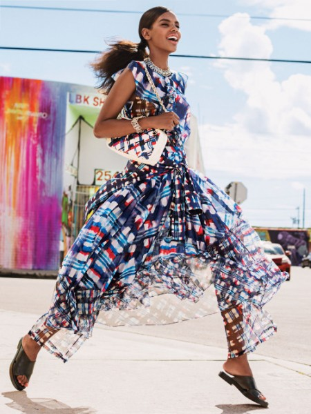 Grace Mahary For Allure's March 2016 Issue 4