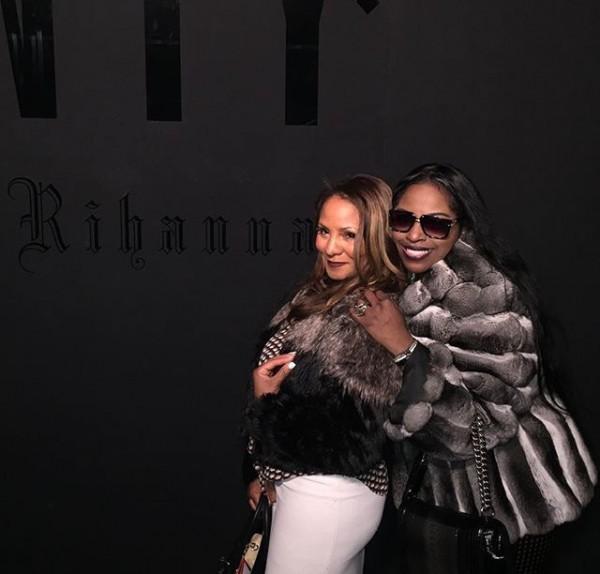 Iconic Female Rapper Foxy Brown Attends Rihanna's Fenty x Puma Show At New York Fashion Week 10