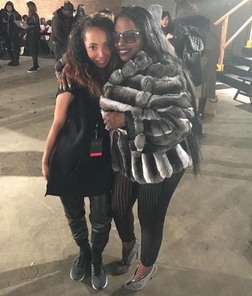 Iconic Female Rapper Foxy Brown Attends Rihanna's Fenty x Puma Show At New York Fashion Week 8