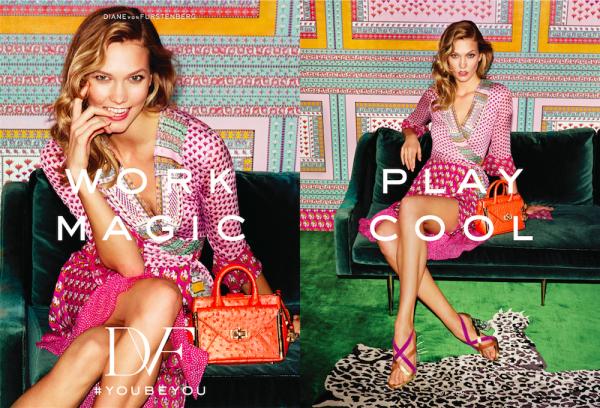 Karlie Kloss Fronts Diane Von Furstenberg Spring Summer 2016 Ad Campaign3