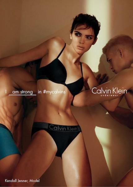 Kendall Jenner, Mitchell Slaggert & Julian Schneyder Star In New Calvin Klein Underwear Ad Campaign 1