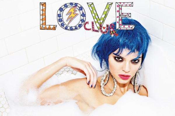Kendall Jenner Takes A Bubble Bath For LOVE Magazine
