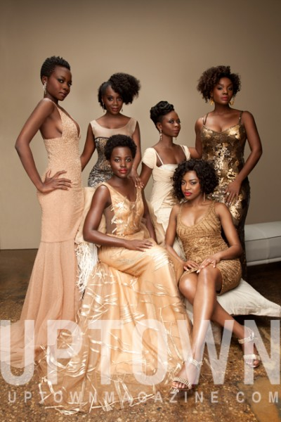 Lupita Nyong'o & The Cast Of 'Eclipsed' Cover UPTOWN Magazine 2