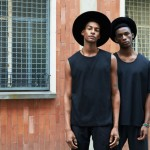 Models Ty Ogunkoya & Harry Uzoka For David Naman's Spring/Summer 2016 Collection