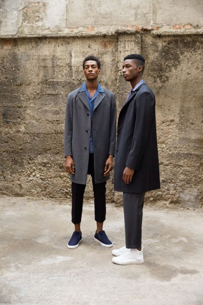 Models Ty Ogunkoya & Harry Uzoka For David Naman's Spring Summer 2016 Collection4