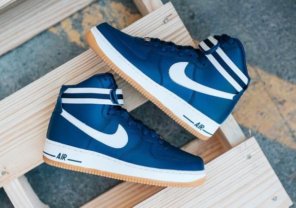 Nike Air Force 1 High 07 Coastal Blue1