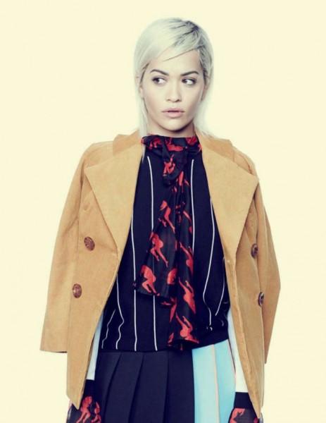 Rita Ora For L'Officiel Russia February 2016 Issue 11