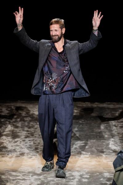 Mandatory Credit: Photo by PIXELFORMULA/SIPA/REX/Shutterstock (5541751ak) Stefano Pilati Ermenegildo Zegna show, Autumn Winter 2016, Milan Men's Fashion Week, Italy - 16 Jan 2016