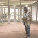 Fabolous Wears A Fur Cat Lynx Bomber Jacket With White Fox Trim & Hood And Kanye West's YEEZY Season 1 Yeezy 950 Boots