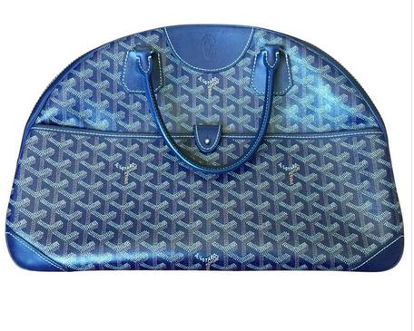goyard leather bag