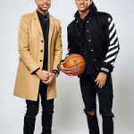 2016 NBA All-Star Photoshoot: D'Angelo Russell & Jordan Clarkson Sported Fly Coats
