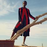 Editorial: Fashion Model Aamito Lagum For Porter Magazine Spring 2016 #13