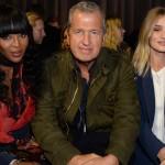 London Fashion Week: Naomi Campbell, Mario Testino, Rosie Huntington-Whiteley, Alexa Chung & Suki Waterhouse Front And Center Row At Burberry Fall 2016