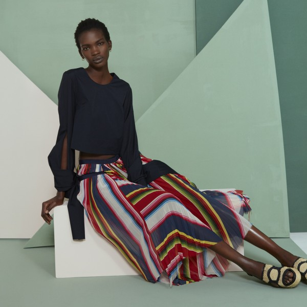 Aamito Lagum For Net-A-Porter's The Edit1