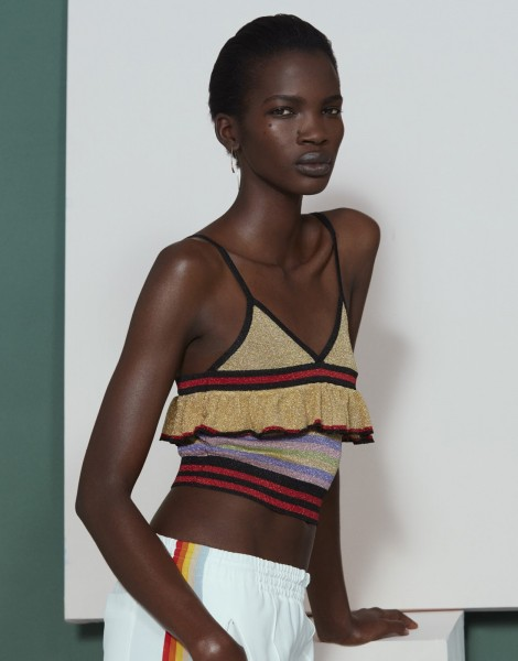 Aamito Lagum For Net-A-Porter's The Edit4