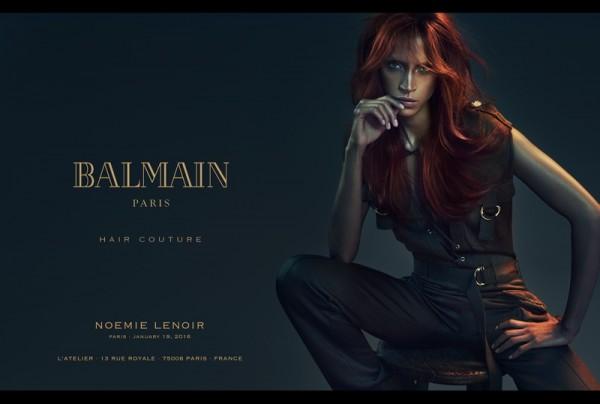 Balmain's Spring Summer 2016 Hair Couture Line 1