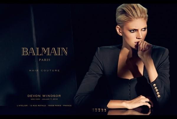 Balmain's Spring Summer 2016 Hair Couture Line5