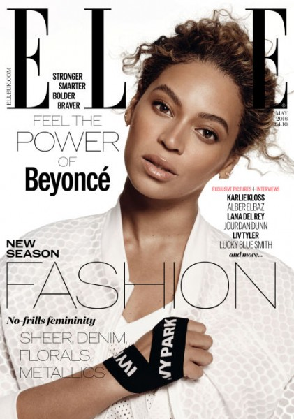 Beyoncé Covers Elle Magazine's 'Women In Music' May 2016 Issue2