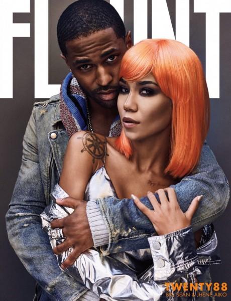 Big Sean & Jhené Aiko For Flaunt Magazine1