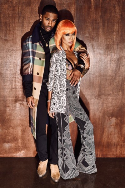 Big Sean & Jhené Aiko For Flaunt Magazine2