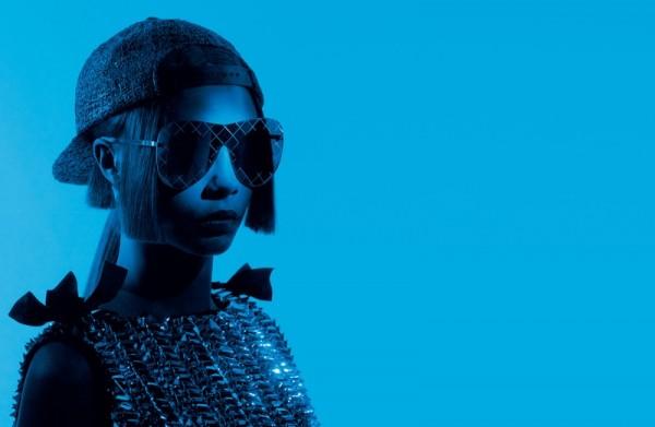 Cara Delevingne Fronts Chanel Eyewear Ads 1
