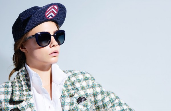 Cara Delevingne Fronts Chanel Eyewear Ads 4