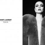Cara Delevingne Fronts Hedi Slimane's Saint Laurent's 'La Collection de Paris' Ad Campaign