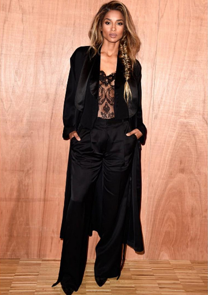 Ciara Attends The Givenchy Fall 2016 Show 2