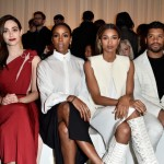 Paris Fashion Week: Ciara & Russell Wilson And Kelly Rowland Attend Lanvin's Show