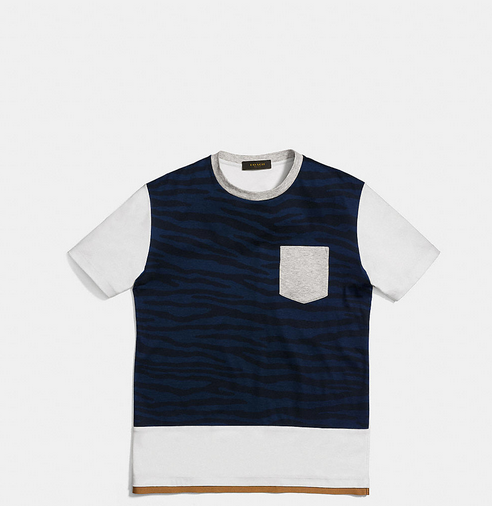 Coach Tiger Printed Tee Shirt With Band2