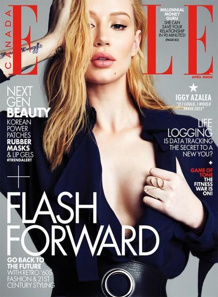 Iggy Azalea Is Elle Canada's Cover Star 3