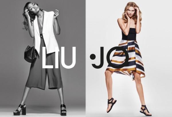 Karlie Kloss And Jourdan Dunn For Liu Jo's Spring Summer 2016 Campaign6