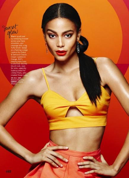 Kyra Green For Cosmopolitan April 2016 1