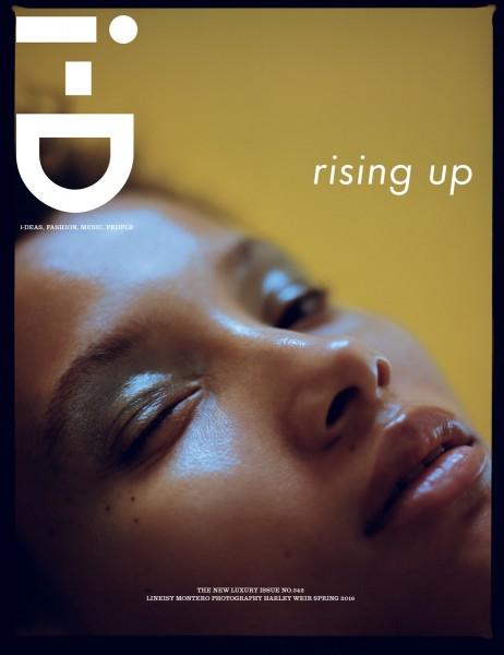 Lineisy Montero For i-D Magazine Spring 2016 3