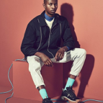 Model Jamie Baah-Mensah For The Guardian And Observer Fashion