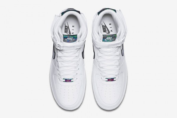 """Nike Is Releasing An """"Iridescent"""" Air Force 1 High4"""