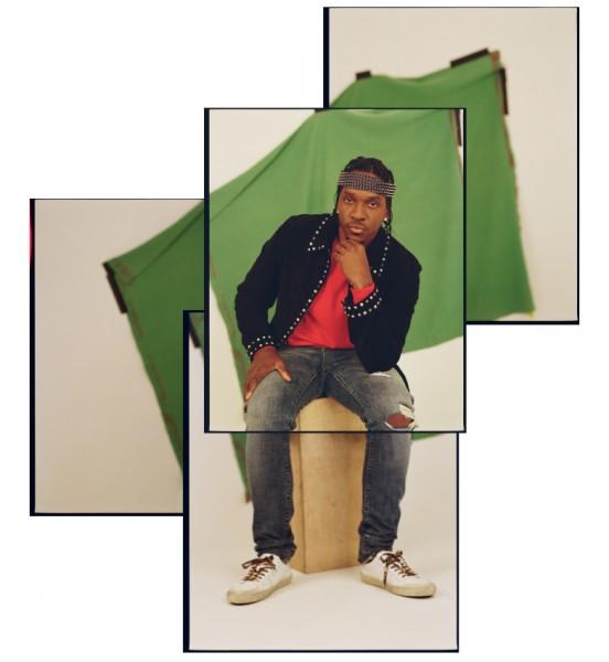 Rapper Pusha T Covers Crack Magazine 2