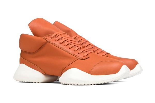 Rick Owens x adidas Tech Runner Fox Orange2
