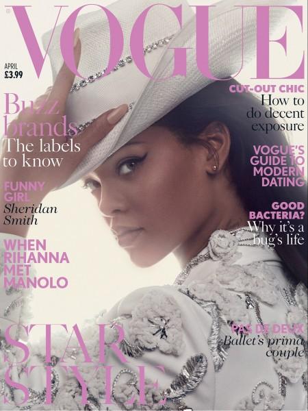 Rihanna Covers April Vogue1