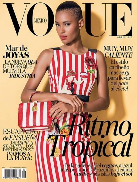 Ysaunny Brito For Vogue Mexico1