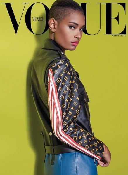 Ysaunny Brito For Vogue Mexico2
