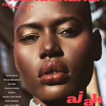 Fashion Model Ajak Deng For Wonderland Magazine's March 2016 Issue