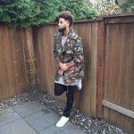 NBA Fashion: Allen Crabbe Wear A Saint Laurent Discovery Camo Cotton Gabardine Parka
