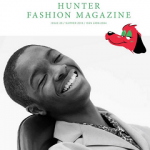Model Alton Mason For Hunter Fashion Magazine Summer Issue 2016; Wears Acne Studios & Saint Laurent Paris