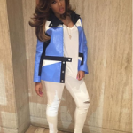 Styling: Angela Simmons Wears A Courrèges Jacket