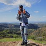 Big Sean Spotted In A Fear Of God Denim Raglan Trucker Jacket & Selvedge Denim Vintage Indigo Jeans